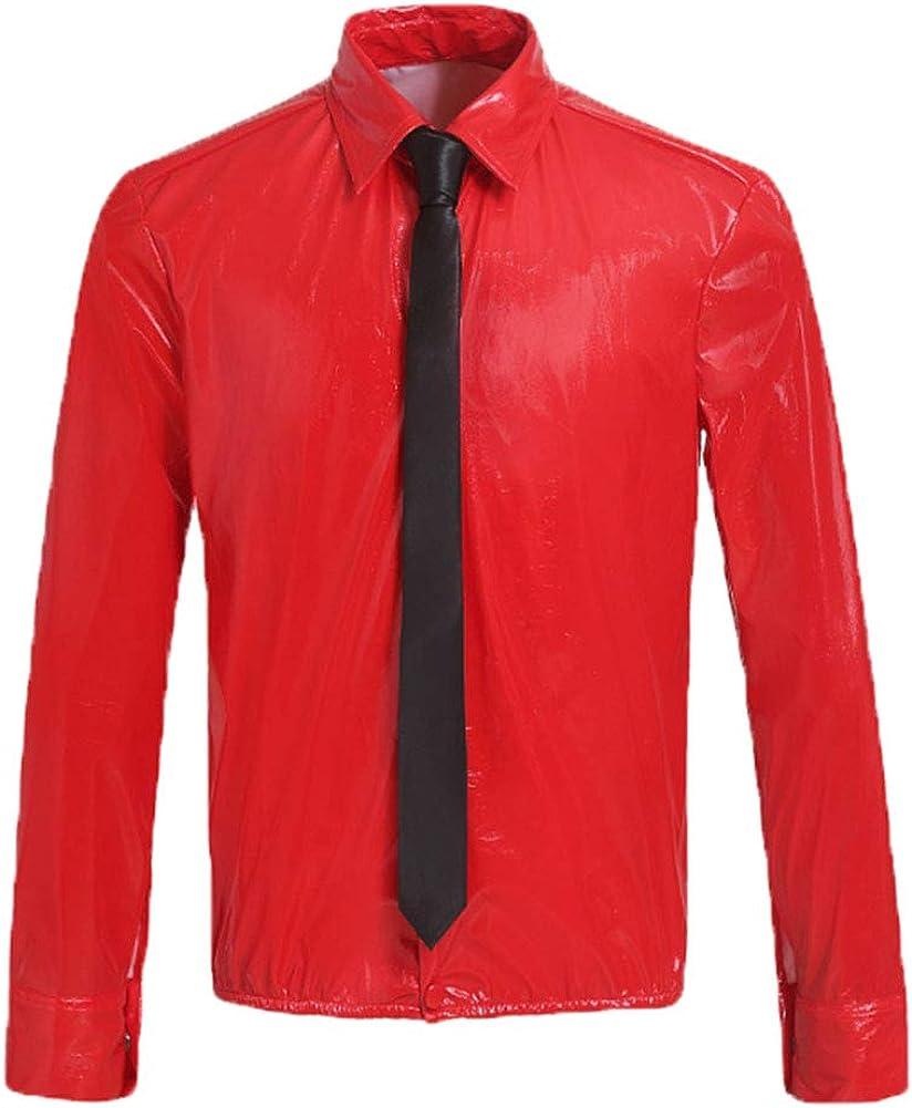 Xfang Michael Jackson - Camiseta de Manga Larga con Corbata ...