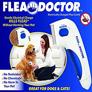 Best ELECTRIC FLEA COMB FOR DOGS AND CATS | FLEA DOCTOR in India in 2020