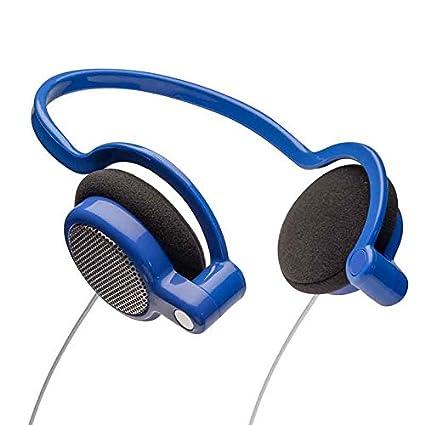 Grado Labs eGrado Negro, Azul Supraaural Gancho de Oreja Auricular - Auriculares (Supraaural,