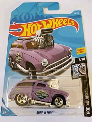 Hot Wheels 2019 Rod Squad Surf 'N Turf 79/250, Purple