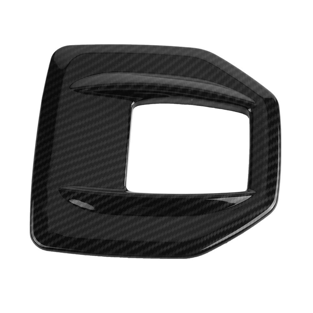Coperchio Cambio Scatola Cambio Rivestimento in ABS in Fibra di Carbonio Coperchio della Copertura del Pannello Scatola Cambio per 2017-2018
