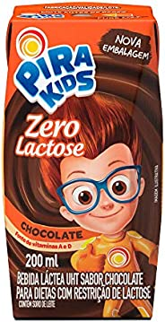Achocolatado Zero Lactose Pirakids 200ml