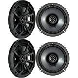 (4) KICKER 43CSC654 CSC65 6.5 6-1/2 1200w 4-Ohm Car Audio Coaxial Speakers