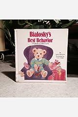 Bialosky's Best Behavior: A Book of Manners (Golden Look-Look) Hardcover
