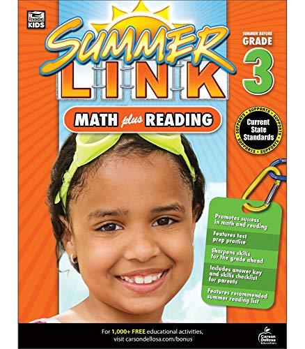 Math Plus Reading Workbook: Summer Before Grade 3 (Summer Link)