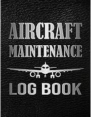Aircraft Maintenance Logbook: Aircraft Engineer Maintenance and Repair Journal & Notebook, Aviation Technician Handbook, Airplane Mechanic Gift Ideas for Men & Women.