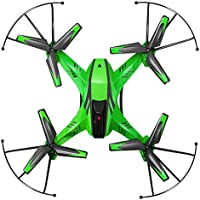 RC TOYS, Yamally_9R YD- A8 4CH 6-Axis Gyro 0.3MP Camera RC Quadcopter 360° Flips Airplane Toy (Green)