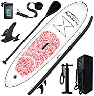Feath-R-Lite Stand Up Paddle Board 10'x30''x6'' Ultra-Light (16.7lbs) ISUP with Inflatable