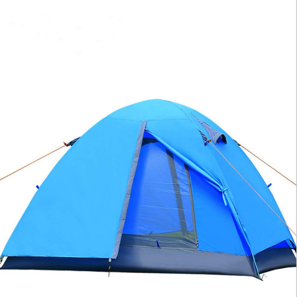 LYX Außenzelt Doppeltes Doppeltes Zeltpaar Der Glasstange Kampierende Lieferungen Camping Reisen