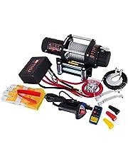 Moracle Cabrestante 12V Winch Sintético 1815KG /2721KG/1360KG Cuerda para Winche de Recuperación con ATV UV