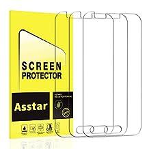 Samsung Galaxy J1 (2016) Tempered Glass Screen Protector, Asstar Thin Premium Real Glass Screen Protector Galaxy J1/Amp 2/Express 3 (3 Pack)