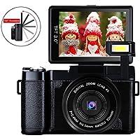Digital Camera Vlog Camera Full HD 1080p 24.0MP Camcorder...