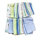 Spasilk 10 Pack Soft Terry Bath Washcloths