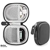 CaseSack Golf Course GPS Case Compatible with GolfBuddy Voice, Voice 2, Bushnell NeoGhost, Garmin 010-01959-00 Approach G10, Mesh Pouches in Both lid and Base for GPS and Cable separatedly