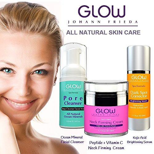Exaggerate. Best facial products for aging skin can