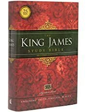 KJV Study Bible, Large Print, Hardcover, Red Letter: Second Edition