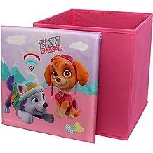 Paw Patrol Girls Everest Square Shaped Childrens Storage Box By BestTrend