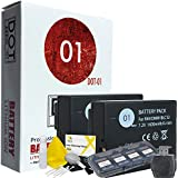 DOT-01 2x Brand Panasonic GX8 Batteries for Panasonic GX8 Camera and Panasonic GX8 Accessory Bundle for Panasonic BLC12 DMW-BLC12
