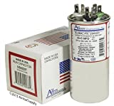 Goodman CAP050350440RSP Replacement - 35 + 5 uf/Mfd 370/440 VAC AmRad Round Dual Universal Capacitor, Made in The U.S.A.