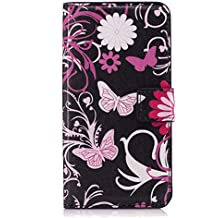 Samsung Galaxy A8 2018 Flip Case, Cover for Samsung Galaxy A8 2018 Leather Kickstand Cell Phone Cover Luxury Business Card Holders with Free Waterproof-Bag