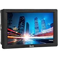 Ikan DH7 7 4K Signal Support 1920x1200 HDMI On -Camera Field Monitor for Canon LP-E6 and Sony L (Black)