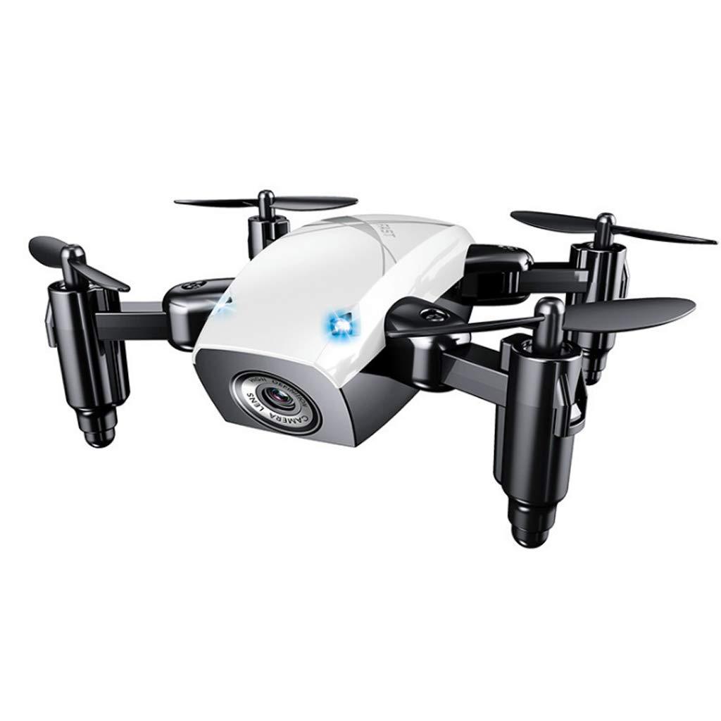 Drohne HD Kamera Quadcopter 2.4Ghz 4 Kanäle Quadcopter One-Key Return mit Hubschrauber Wahl für Kinder und Anfänger weiß