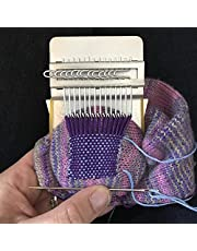 Small Loom-speedweve Type, DIY Weave Wooden Clothes Jeans Quick Repair Tool Small Loom, Most Convenient Hand-woven Handicrafts Small Darning Loom Speedweve Type Weave Tool
