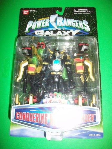 Power Rangers Lost Galaxy Conquering Magna Defender Ranger Action Figure MOSC MOC NEW Bandai 1998 (Power Ranger Lost Galaxy compare prices)