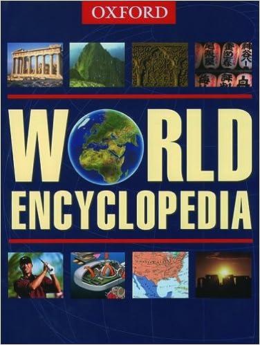 World Encyclopedia: 9780195218183: Reference Books @ Amazon.com