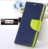 Samsung Galaxy Ace NXT SM-G313H Flip Cover Mercury Case (Blue & Green) By Vegus