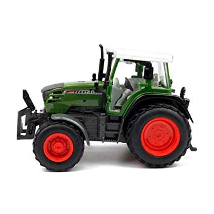 Yingjianjun Tractor agrícola de aleación, Modelo de Coche Tractor de simulación de simulación de Regalo