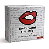 Kroeger That's What She Said - The Party Game of Twisted Innuendos