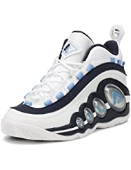 Fila Mens Bubbles High-Top Leather Basketball Shoe