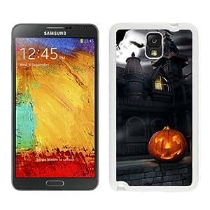 Popular Design Halloween White Samsung Galaxy Note 3 Case 5