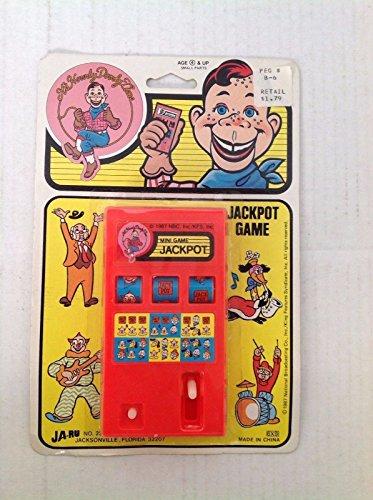 Howdy Doody Jackpot Game Original Package 1987 JaRu