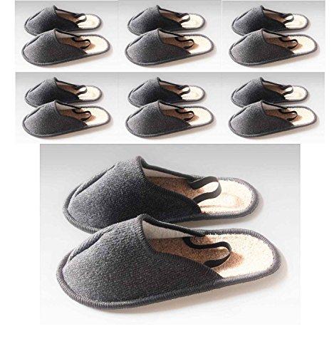 Musée Chaussons, les artisans Pantoufles, Couvre-chaussures avec élastique au talon 7paires