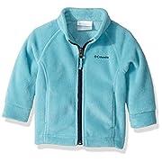 Columbia Baby Girls' Benton Springs Fleece Jacket, Pacific Rim, 3-6 Months