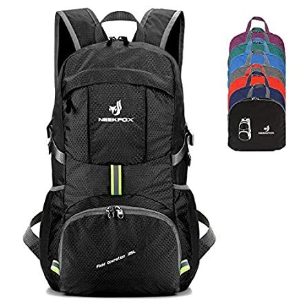 NEEKFOX Packable Lightweight Hiking Daypack 35L Travel...