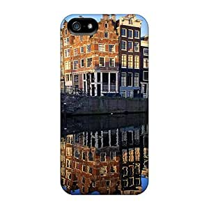 For DMY7368hOjg Bridge In Amsterdam Netherls Protective Case Cover Skin/iphone 5/5s Case Cover
