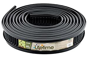 Master Mark Plastics 25840 Lifetime Landscape Edging 5 Inch by 40 Foot, Black