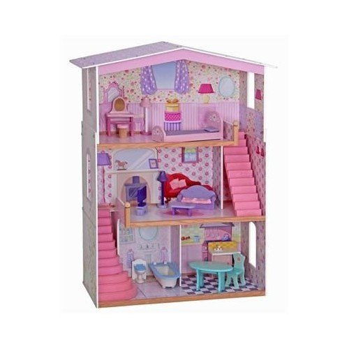 Serra Baby Sparsely Furnished 3 STOREY Wooden Mentari Baby House by Serra Baby
