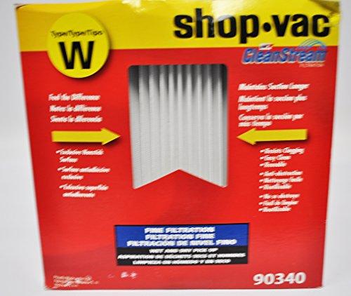 Shop Vac Gore CleanStream Fine Filtration HEPA Cartridge Filter Type W 90340
