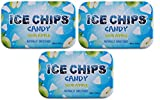 ICE CHIPS Xylitol Candy Tins (Sour Apple, 3 Pack)