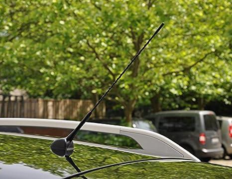 f/ür Ford Adapter inkl Empfangsverbesserung FUCHS PARTS Original 41,5cm Autoantenne KfZ Radioantenne Stabantenne AM//FM Empfang