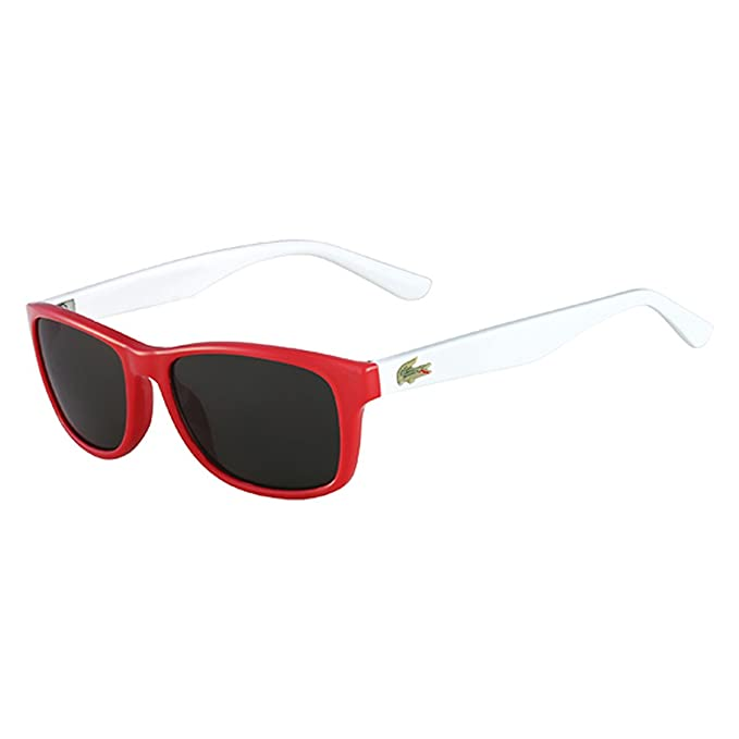 Lacoste Gafas de Sol Kids L3601S (50 mm) Rojo/Blanco: Amazon ...