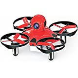Tiny Whoop Mini Drone Micro FPV BNF II Quad 90mm Racing Drone with FrSky Receiver F3 Brushed Flight Controller by Crazepony-UK