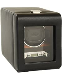 Designs Module 2.7 Roadster Single Watch Winder with Cover, Black