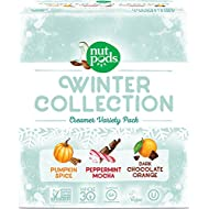 nutpods NEW Winter 3-pack - Pumpkin Spice, Peppermint Mocha and Dark Chocolate Orange, Unsweetened Dairy-Free Creamer - perfect Stocking Stuffer Gift