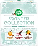 nutpods NEW Winter 3-pack - Pumpkin Spice, Peppermint Mocha and Dark Chocolate Orange, Unsweetened Dairy-Free Creamer - perfect Stocking Stuffer Gift