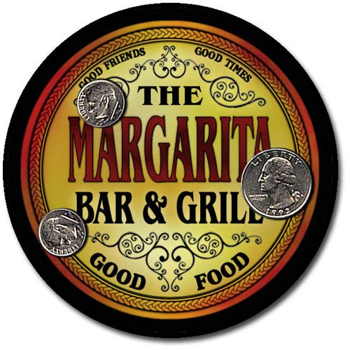 Margarita Family Bar and Grill Neoprene Drink Coasters
